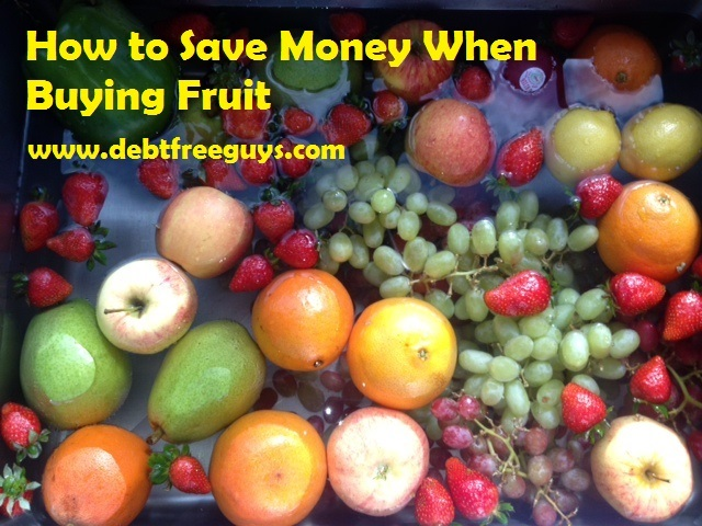 Saving Money When Buying Fruit