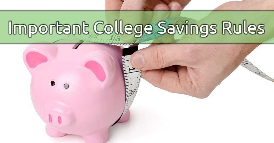 College Saving Rules