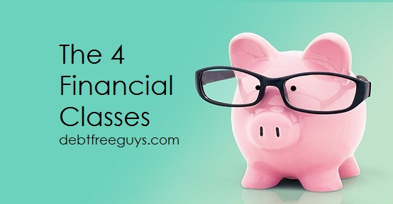 4 financial classes - Debt Free Guys