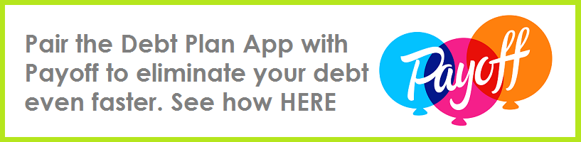 Payoff and Debt Plan App promo