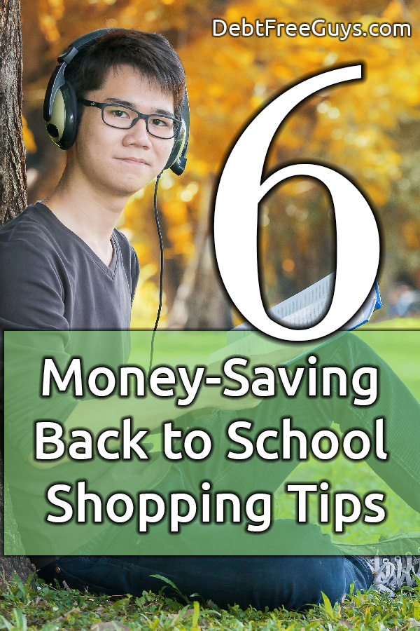 Back to school doesn't have to cost you a mortgage payment with these six, fabulous back to school shopping tips from your two GBFs. Be the first on your board to share these tips with your friends.