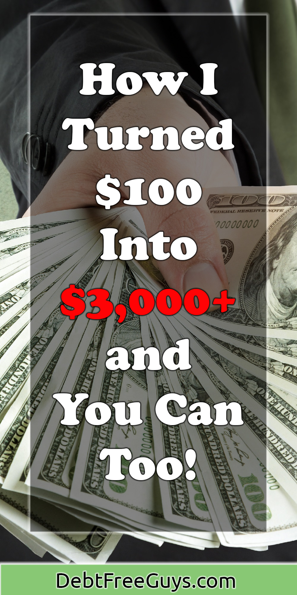 This was our best investments ever to pay off all our debt. We took a $100 purchase and turned it into a $3,000 investment. Get all the details in this simple video and share with all your friends.