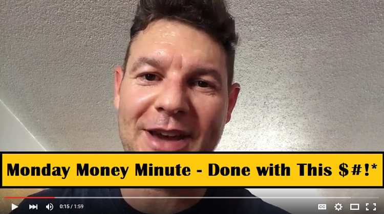 Debt Free Guys- Monday Money Minute: Done With this Shit