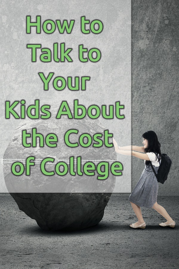 Student loan debt doesn't have to be your family's future if you have the college costs discussion with your kids. Here's what to talk about.