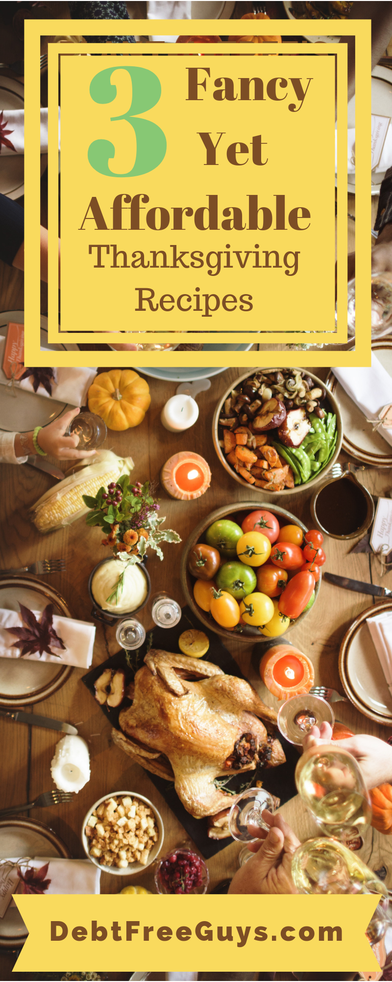 #Thanksgiving & Thanksgiving food are two of our most favorite things ever, and these three Thanksgiving #recipes will be delicious for both your stomach and wallet. How much wine would you add to #2?