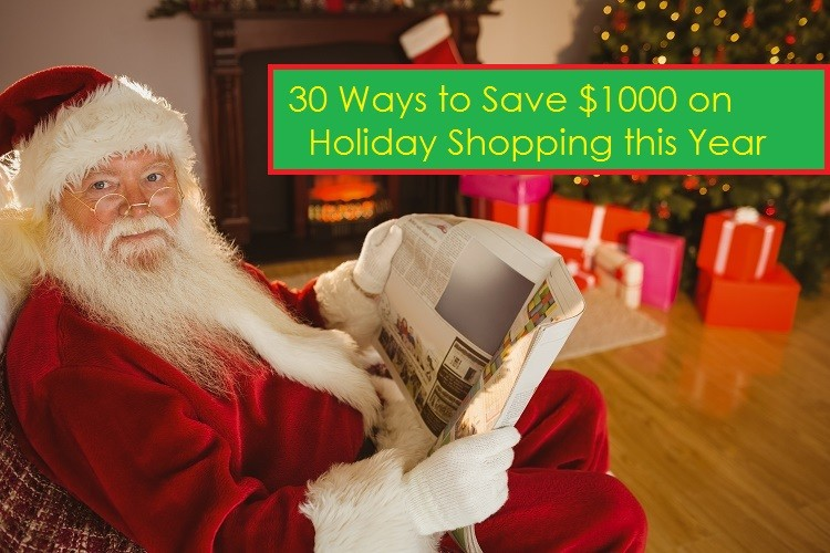 Debt Free Guys - 30 Ways to Save $1000 on Holiday Gifts
