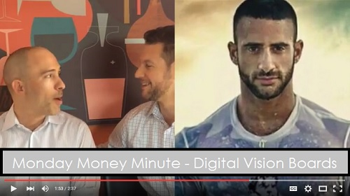 Monday Money Minute - Digital Vision Boards