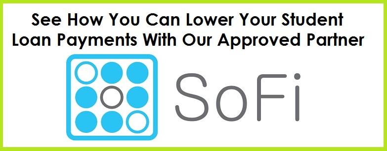 SoFi Reduce Loan Payments button 2