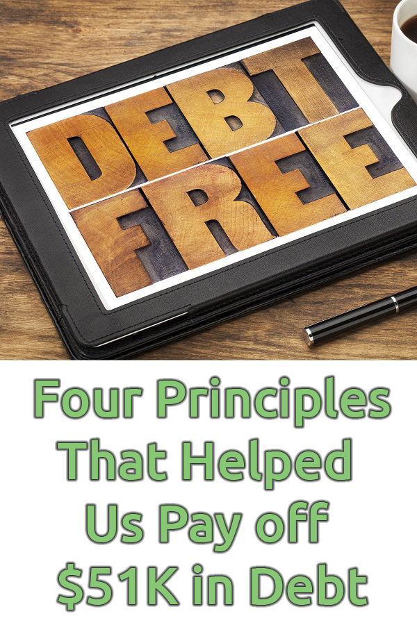 Have you tried to get out of debt before and failed? This was us year after year, resolution after resolution . . . that is until we learned the four principles we share in this book. If you want to become and life debt free, this one book and these four principles are all you need.