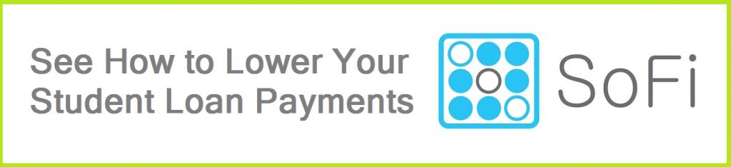 SoFi Reduce Loan Payments button 3