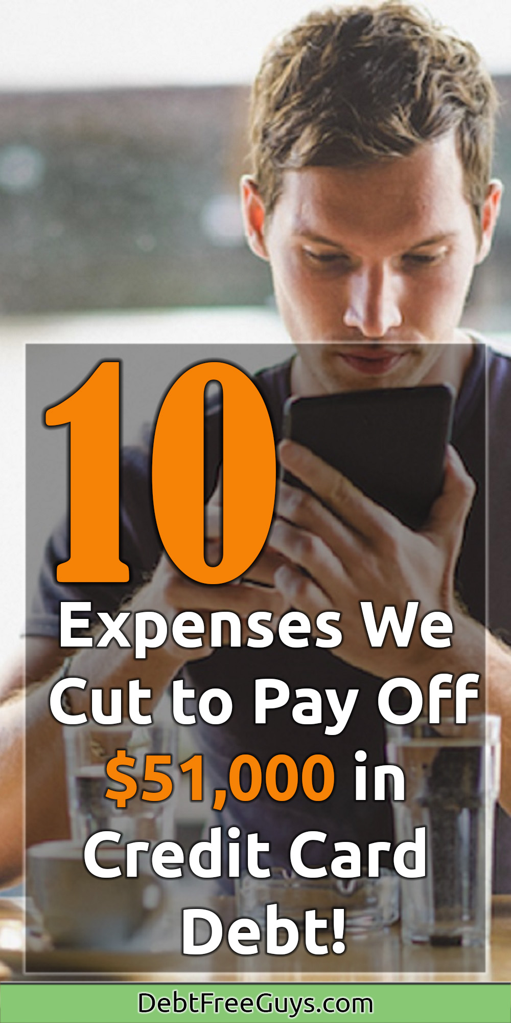 We paid off $51K in credit card debt in 2.5 years because we found great ways to reduce our expenses and not eliminate our fun. These tips are great and your friends will thank you for sharing them. #Expenses #Save #SaveMoney #CutExpenses