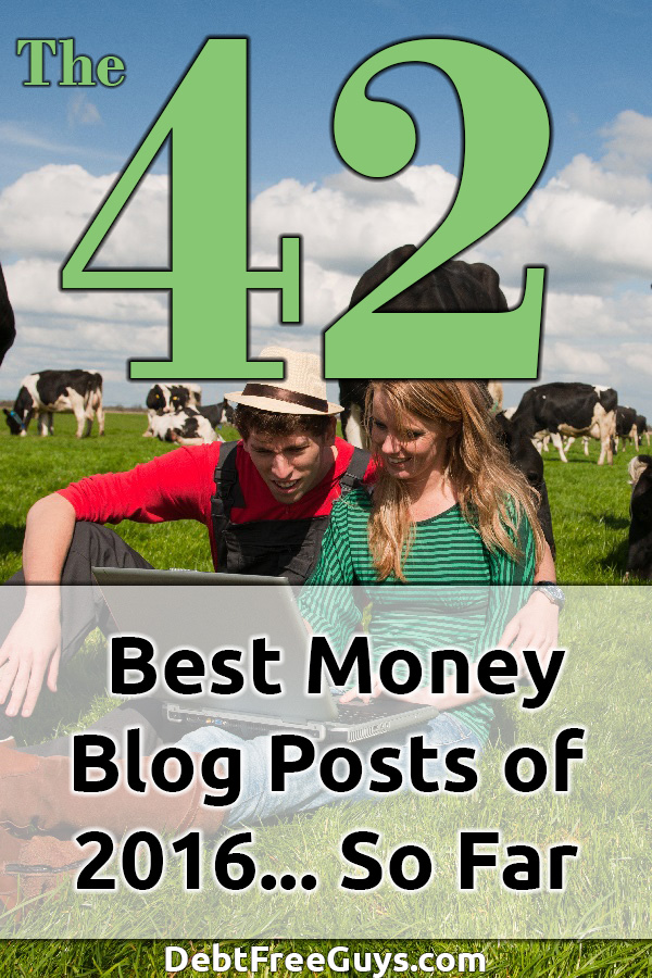 How is your 2016 so far? Need a little financial help? Here are the 42 Top Personal Finance Blog Posts of 2016 to help you end the year on a high note. Budget | Budgeting | Personal Finance | Money | Making Money | Money Tips | Frugal Living | Financial Independence Retire Early | Retirement | Entrepreneur |