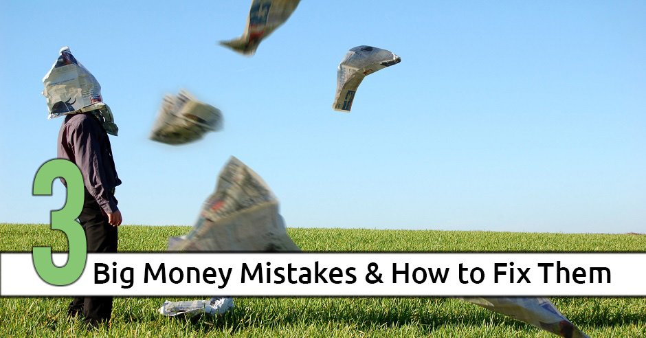 big money mistakes - Debt Free Guys