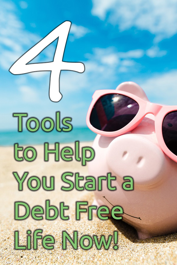 What if I told you there were only four keys to be debt free and all four keys are included in this one article? Find out how you, your friends and your family can start to become debt free today!