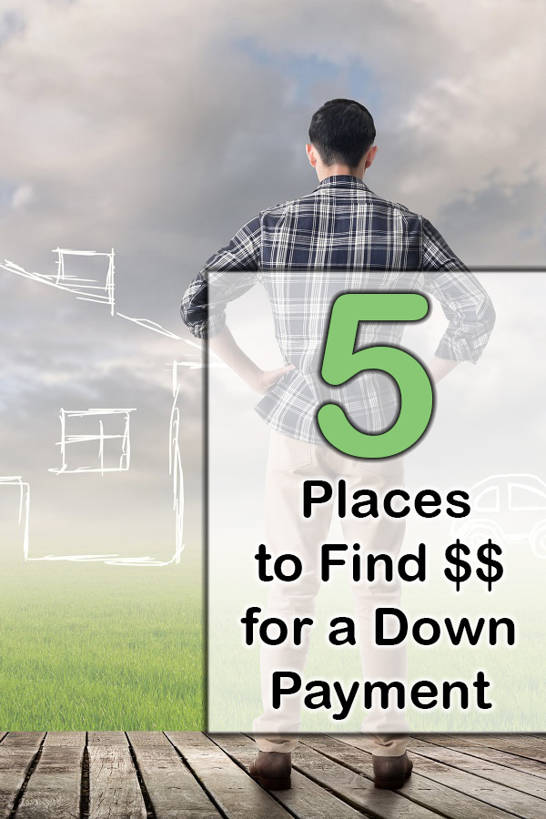 5 ways to find extra money for a down payment debt free guys for Down payment to build a house
