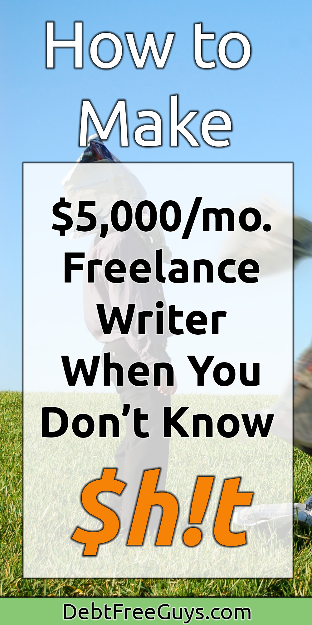 Tired of being broke or working for someone else? This 'how to' guide is all you need to know start earning yourself thousands in freelance writing income to increase your income streams or go solo.