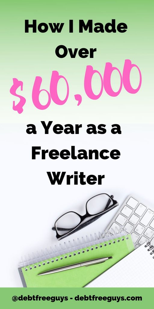 Tired of being broke or working for someone else? This 'how to' guide is all you need to know start earning yourself thousands in freelance writing income to increase your income streams or go solo. #MakeMoney #MoneyTips #MoneyConscious #EntrepreneurMen #SideHustle #FreelanceWriting #Freelance