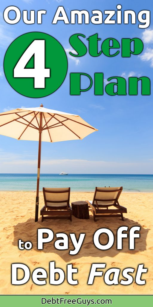 4 Step Plan to Become Debt Free