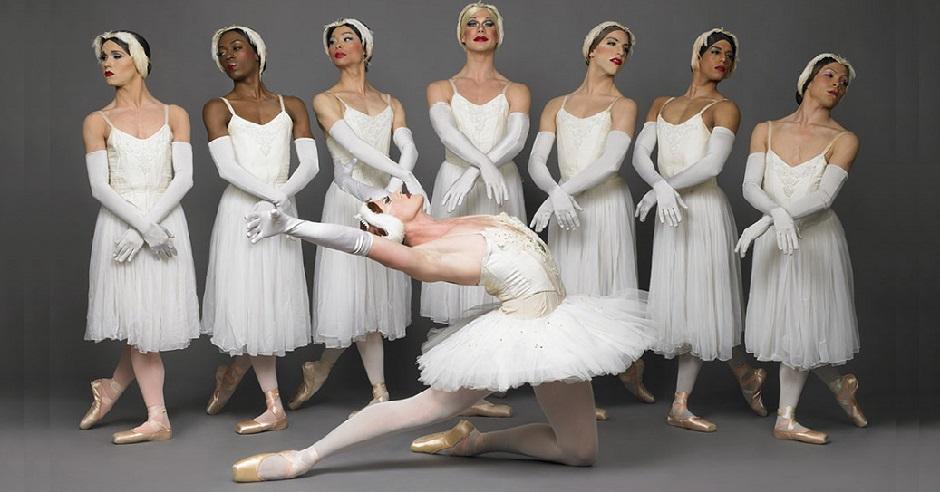 Robert Carter of Les Ballets Trockadero de Monte Carlo
