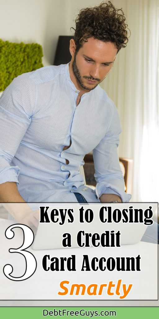 Having a good credit score. Until now! This article will give you the easy squeezy of the ins and outs of closing your credit cards to improve your credit score. You've gotta check this out to shut your cards down. Credit Card | Closing a Credit Card | Budget | Debt | Debt Free | Credit Score | Credit Utilization | Debt Free Guys |