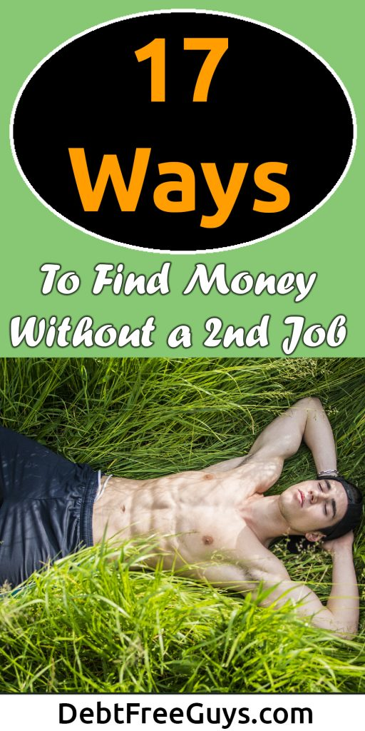 Want to find extra money without finding an extra job? Sure, we all do! Here are 17 ways to find extra money is all you need to make the money to be debt free. Share with 17 friends to make their day. #Money #MakeMoney #MoneyTips #MoneyConscious