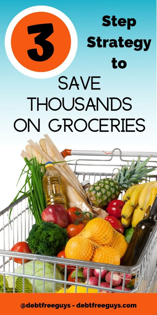 Are you eating yourself broke? We spent thousands of dollars a month on groceries and dining out until we created a plan for saving on groceries. Get our free weekly menu and grocery list templates! #MoneyTips #FrugalFood #SavingMoney #SavingOnGroceries #GroceryShoppingTips
