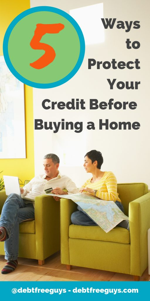 You can't do enough today to protect your credit. These 5 tips and our new, favorite tool will do as much as you can today to protect your credit. Share with friends and family to share the protection. #MoneyTips #Credit #CreditScore #MoneyConscious #HomeBuying