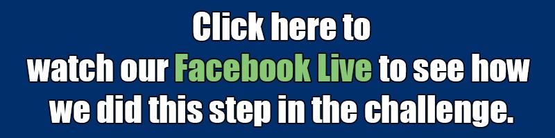 Challenge steps FB Live invite banner