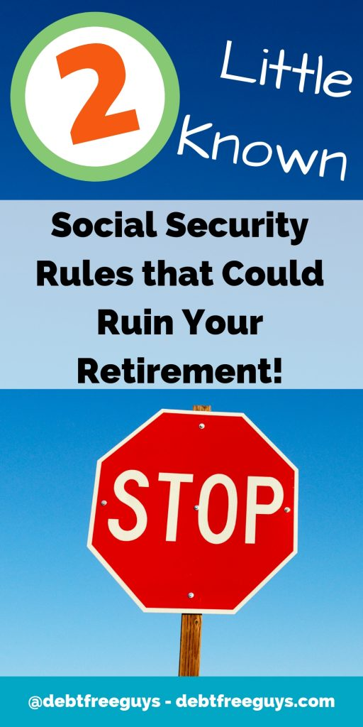Don't let these two pieces of the social security law ruin your retirement. Two Social Security Offsets (Windfall Elimination Provision, Government Pension Offset) could ruin the retirement you worked for over your lifetime. #MoneyTips #MoneyConscious #Retirement #SocialSecurity #SocialSecurityOffsets