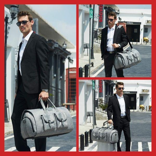 Large Carry-on Garment Duffel Bag