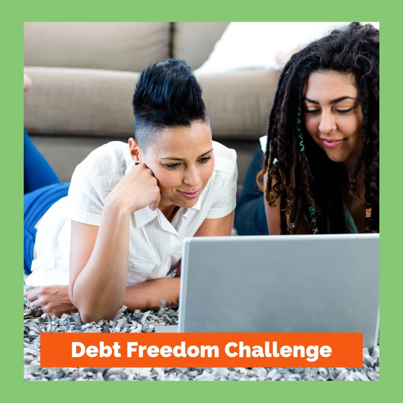 Debt Freedom Challenge Shop image