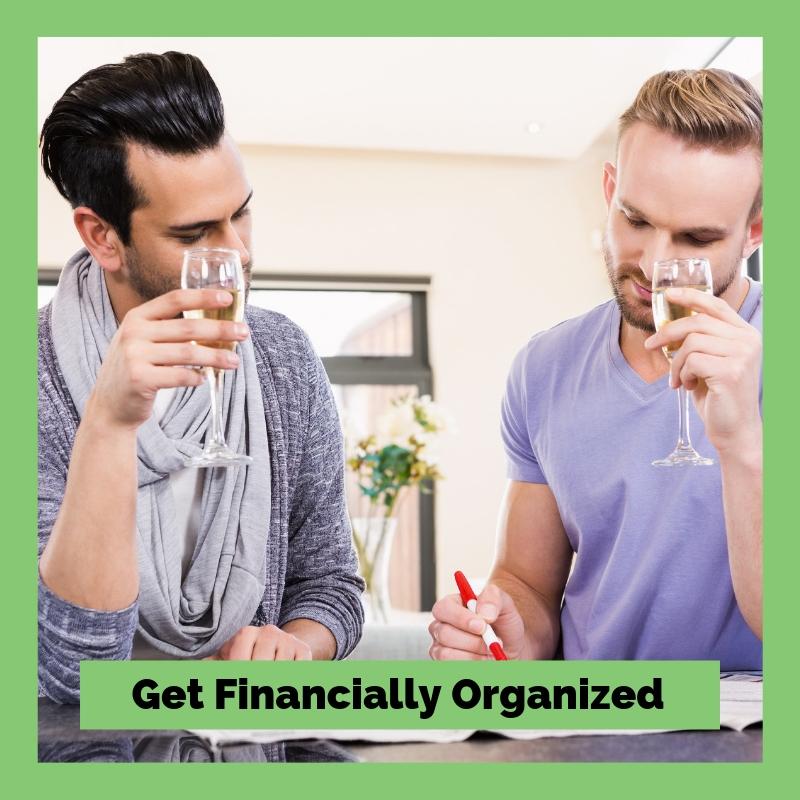 Get Financially Organized Shop Image