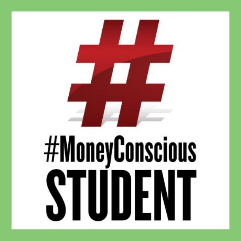 #MoneyConscious Student Shop Image