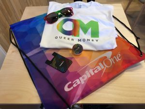 Queer Money Live Tour - swag