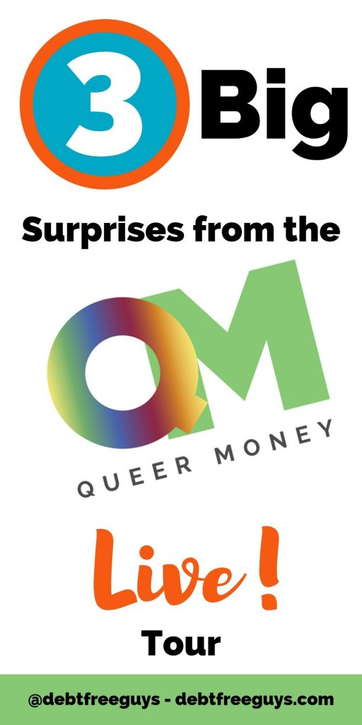 The Queer Money Live tour was a huge success. We were able to discuss LGBTQ issues with money and how talking about money and being money conscious are key to helping the LGBTQ community become financially strong. #LGBTQIssues #GayMen #FabulousGayLife #LGBTBusiness #MoneyTips #MoneyConscious