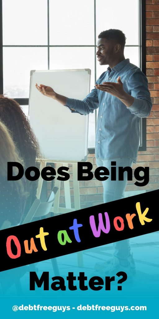 "Coming out at work is scary, for sure, but being out at work matters. As Harvey Milk said, ""Come out to everyone."" Here's how and why that matters. #LGBTBusiness #LGBTQIssues #ComingOut #MoneyConscious #LGBTBiz #QueerMoney #FabulousGayLive #Gay #GayMen #Lesbian #Transgender #Bisexual #Queer"