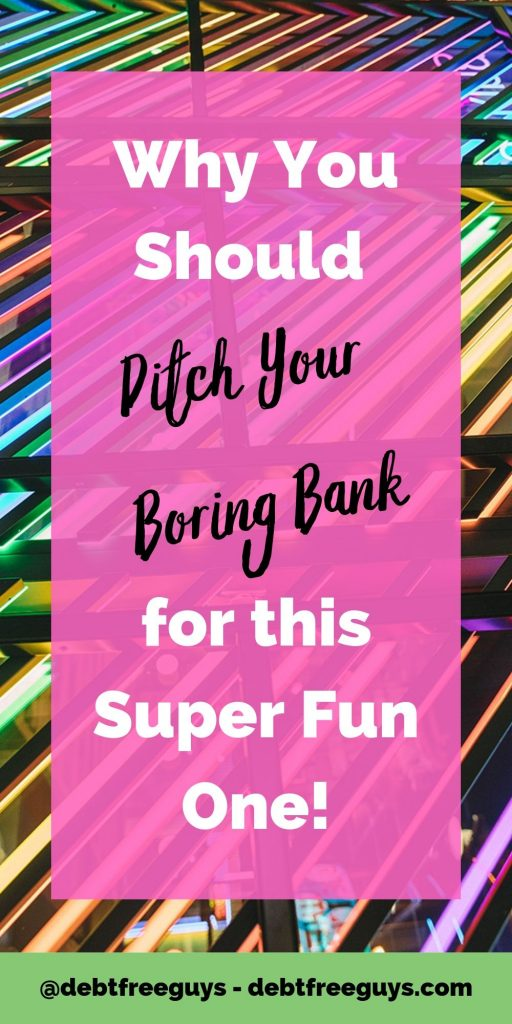Banking doesn't mean stuffy suits and velvet ropes anymore and, yes, it's more exciting than a lollipop. Hear who's taking the boring out of banking. #Banking #LGBTQ #LGBTBusiness #LGBTBiz #QueerMoney #Podcast #Queer #LGBTQIssues #MoneyConscious #Money #Gay