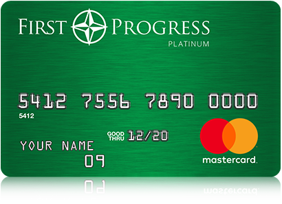 First Progess Secured card