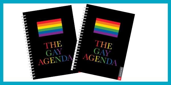 The Gay Agenda Undated Calendar